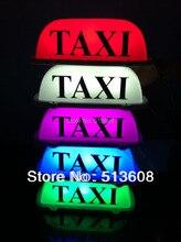 D003 светодиодный такси крыше Войти свет лампы Магнитная База с Авто-прикуриватели Plug 4 цвета на выбор