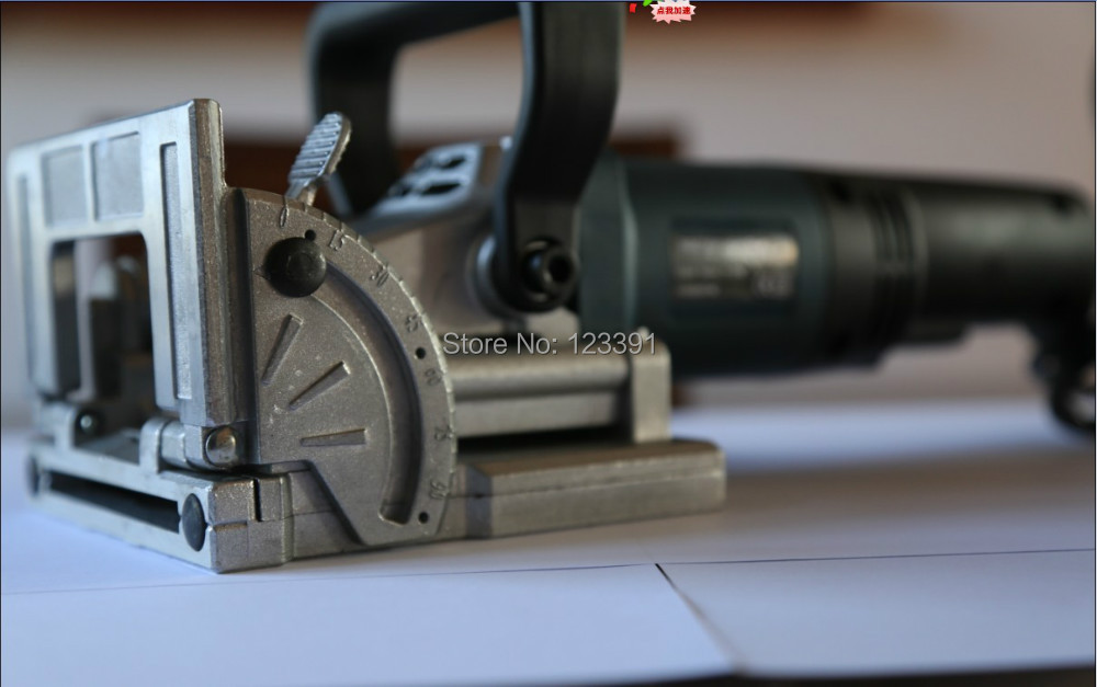 promotion sale electric tool authentic home DIY woodworking tenoning machine biscuit machine puzzle machine groover copper motor