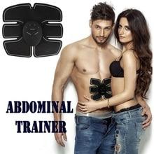 Abdomen Trainer Battery Home Fitness Abdomen Instrument Muscle Trainer Abdominal muscle Abdomen цены