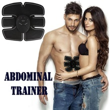 New Abdomen Trainer Battery Home Fitness Abdomen Instrument Trainer Muscle Abdominal Otot Abdomen