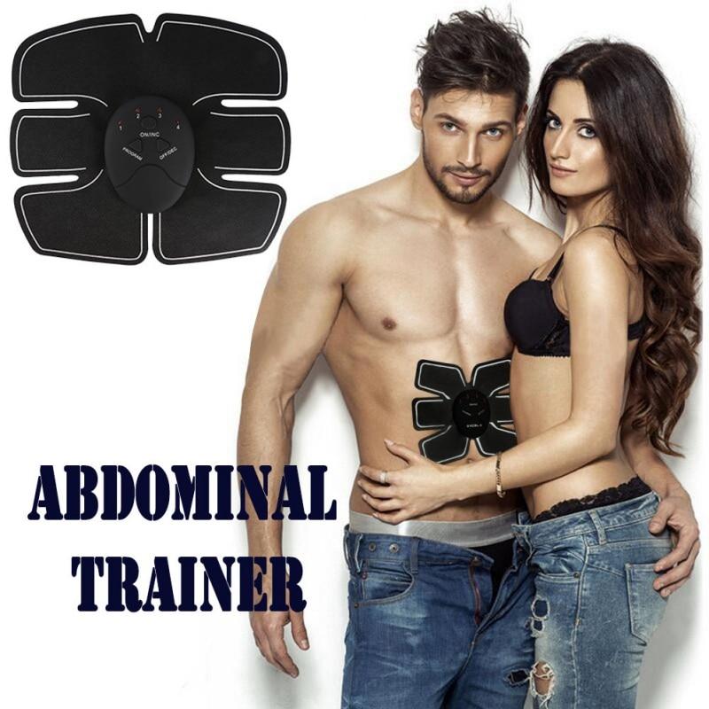 New Abdomen Trainer Battery Home Fitness Abdomen Instrument Muscle Trainer Abdominal muscle Abdomen