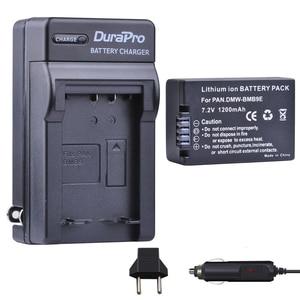 Image 1 - 1 pz DMW BMB9 DMW BMB9E DMW BMB9 Batteria + Caricabatteria Da Auto per Panasonic Lumix DMC FZ40K FZ45K FZ47K FZ48K FZ60 FZ70 FZ100 FZ150