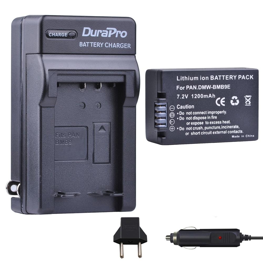 1pcs DMW BMB9 DMW BMB9E DMW BMB9 Battery + Car Charger for Panasonic Lumix DMC FZ40K FZ45K FZ47K FZ48K FZ60 FZ70 FZ100 FZ150|lumix battery|battery lumix|7 4 battery - title=