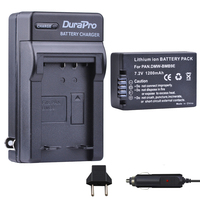 1pcs DMW BMB9 DMW BMB9E DMW BMB9 Battery + Car Charger for Panasonic Lumix DMC FZ40K FZ45K FZ47K FZ48K FZ60 FZ70 FZ100 FZ150