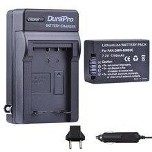 Аккумулятор и автомобильное зарядное устройство для Panasonic Lumix DMC FZ40K FZ45K FZ47K FZ48K FZ60 FZ70 FZ100 FZ150