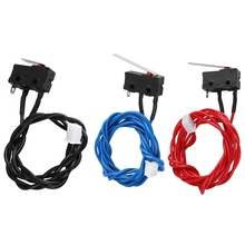 Um2 3D Printer Ultimaker 2 Extended + Limit Switch Kit Red Blue Black Cable Endstop Hx2.54 Connector