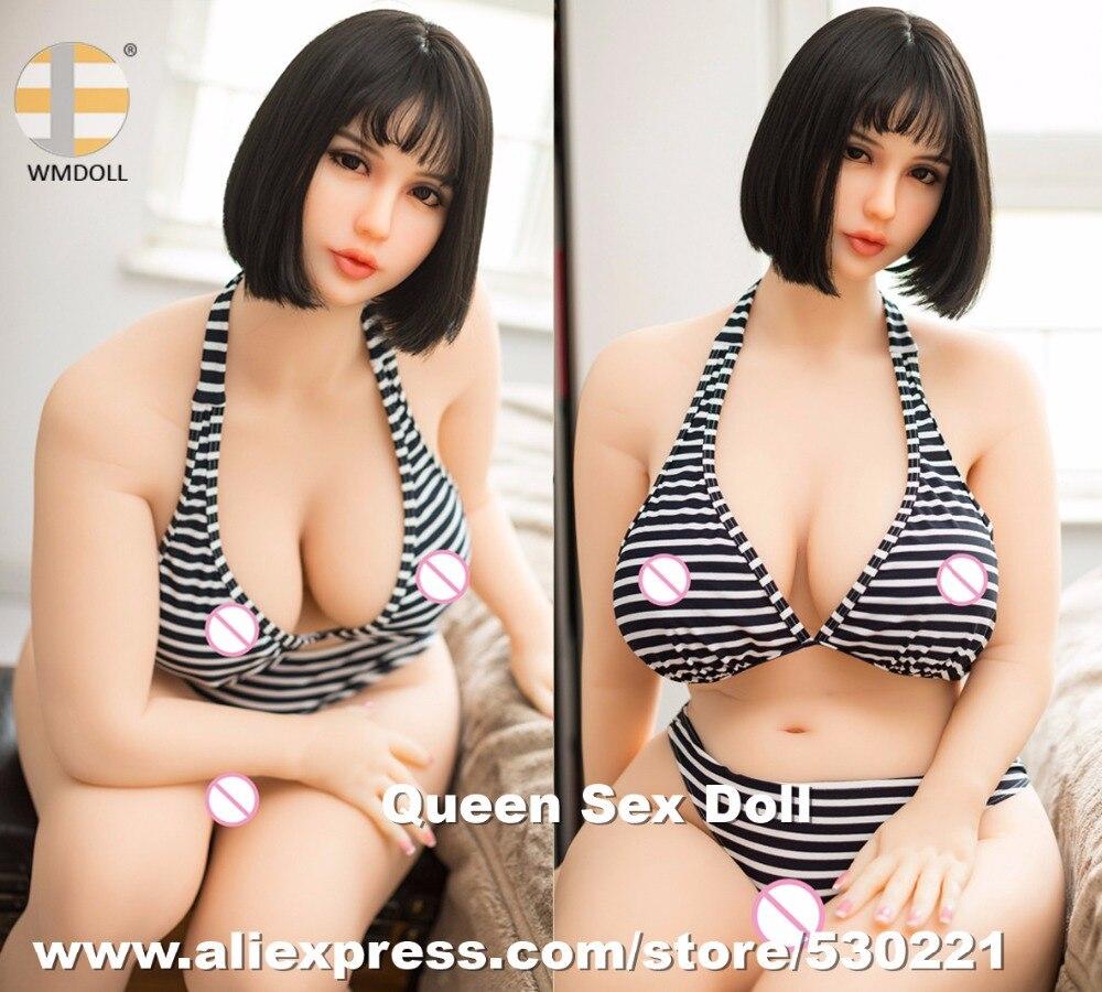 NOUVEAU WMDOLL 168 cm Top Qualité Énorme Cul Silicone Poupées de Sexe Japonais Réaliste Adulte Poupées Sexy Amour Mannequin Avec Réel vagin