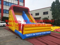 Factory direct inflatable slides, pool slides, trampolines, obstacle courses, Sea Back garden inflatable slide BYS529
