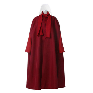 Image 1 - The Handmaid Tale The Handmaids Tale Cosplay Costume coat+dress+bag+scarf+hat Elisabeth Moss June Osborne Offred Trench