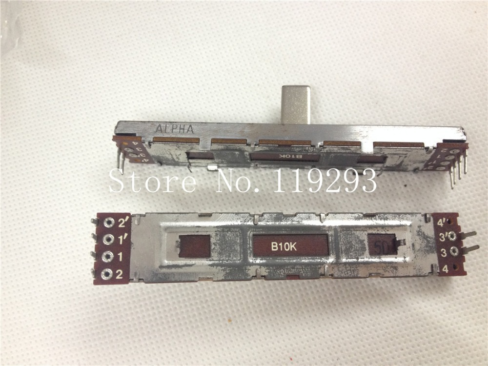 lan Japanese Original Empire Noble Rk12-b104 B100k 20mm Handle 6 Feet Potentiometer--10pcs/lot bella lan