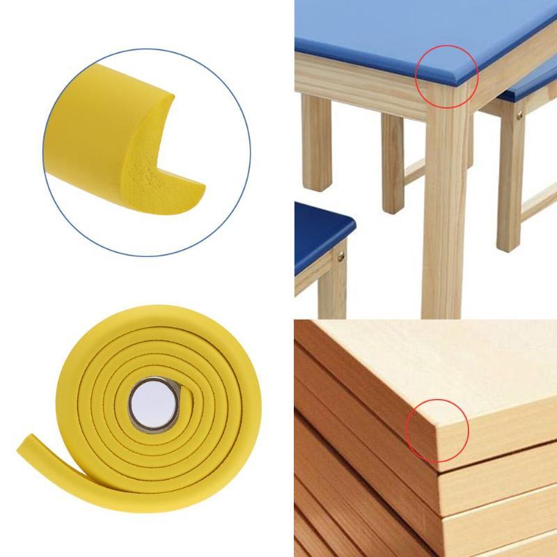 Furniture Foam Bumper Guard Strip Desk Corner Protector Baby Safety Table Edge