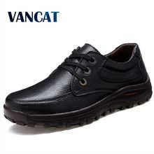 VANCAT big size 38-47 mens dress italian leather shoes luxury brand mens loafers genuine leather formal loafers moccasins men