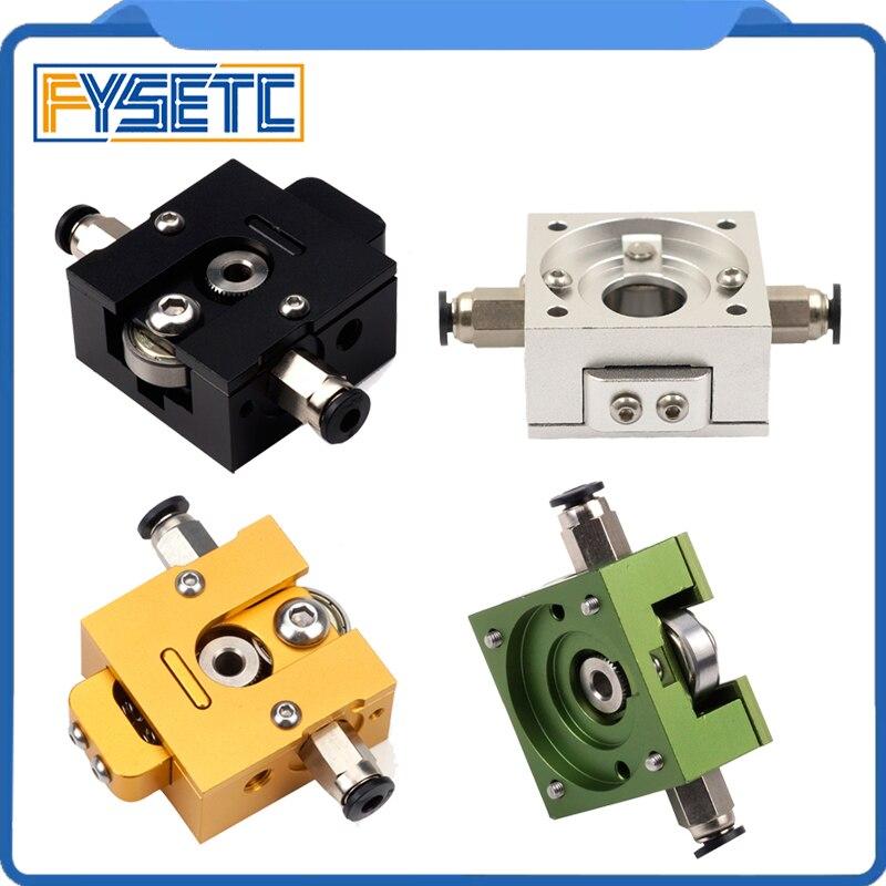 1 satz DIY Reprap Bulldog Alle-metall Extruder Schwarz/Grün/Gold/Siliver Für 1,75mm Kompatibel j-kopf MK8 Extruder Remote Proximity