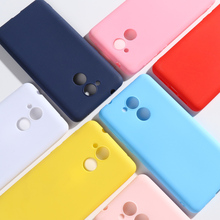 For Huawei Honor 6C Case Cover 5.0 Soft Silicone Candy Color Phone Back inch Bumper Capa