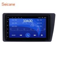 Seicane 2Din Android 6,0 7 автомобиль радио головное устройство gps навигации мультимедийный плеер для Honda Civic 2001 2002 2003 2005 2004