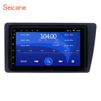 Seicane 2Din Android 6.0 7 Car Radio Head Unit GPS Navigation Multimedia Player For Honda Civic 2001 2002 2003 2004 2005