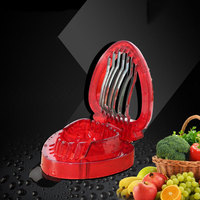 Strawberry Cut Fruit Cutting Device Candy Color Pattern Cutter Stainless Steel Slicer