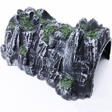 17,8 см Пластиковый трек поезд железная дорога туннель имитация пещеры сцена модель игрушка