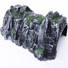17.8cm Plastic Track Train Rockery Railway Tunnel Simulated Cave Scene Model Toy(China)