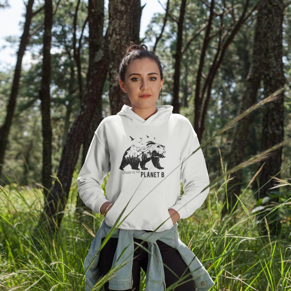There Is No Planet B Hoodie Hoodies Printed Long-sleeve Women Kawaii Streetwear Pullover