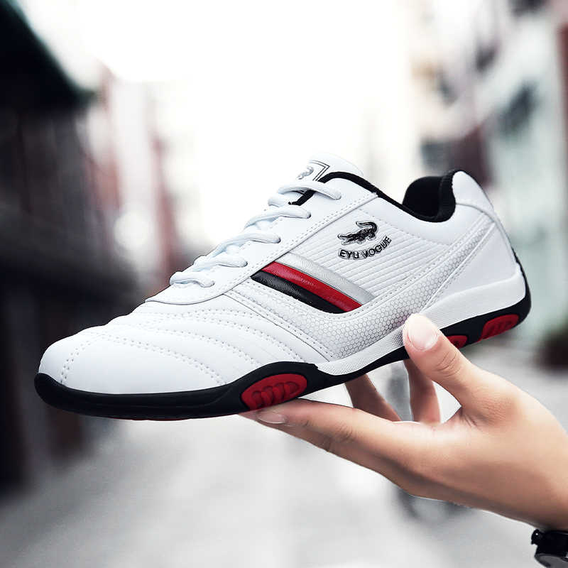 2019 neue Luxus Männlichen Laufschuhe Bequeme Sport Schuhe Für Männer Designer Mann Jogging Turnschuhe Pu Leder Herren Marke Schuhe