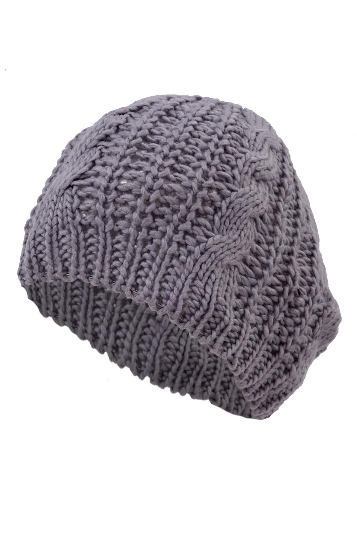 NEW Braided Baggy Beanie Crochet Knitting Warm Winter Wool Hat Ski Cap for Women