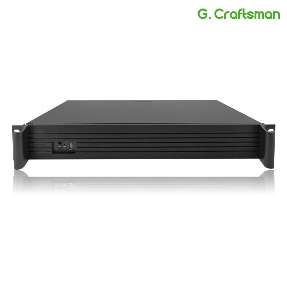 36CH 4 K 5MP 3MP H.265 Supporto 4 HDD 2U Professionale NVR Network Video Recorder Registrazione IP Sistema di Telecamere di Sicurezza g. ccraftsman