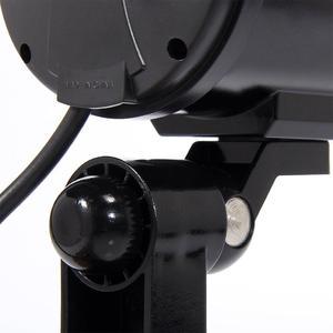 Image 4 - JOOAN 2 sztuk na zewnątrz atrapa kamery nadzoru bezprzewodowe LED light fałszywa kamera domu kamery bezpieczeństwa CCTV symulowane nadzoru