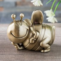 High grade Metal Bee Money Box Piggy Bank Crafts Children's Gifts European Creative Personality Children Piggy Bank