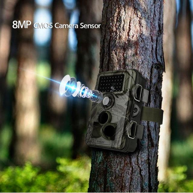BOBLOV CT009 Hunting Camera 16MP Trail Camera Farm Security Wild Cameras IR Night Vision Photo Traps IP66 Cam Device For Hunting Hunting Cameras    -