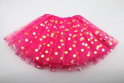 Г. Новая летняя и Осенняя детская юбка детская одежда юбки-пачки для девочек модная повседневная юбка-пачка для принцесс - Цвет: rose red