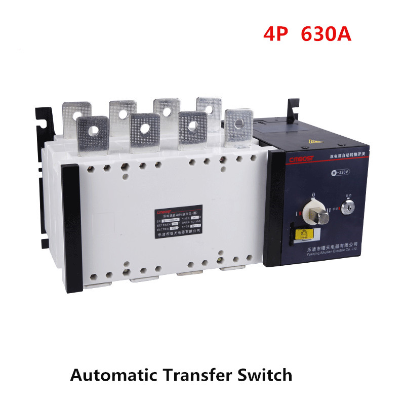 все цены на 4P 630A Dual Power Automatic Transfer Switch PC Grade 380v 3 phases Circuit Breaker Isolation type 630A ATS