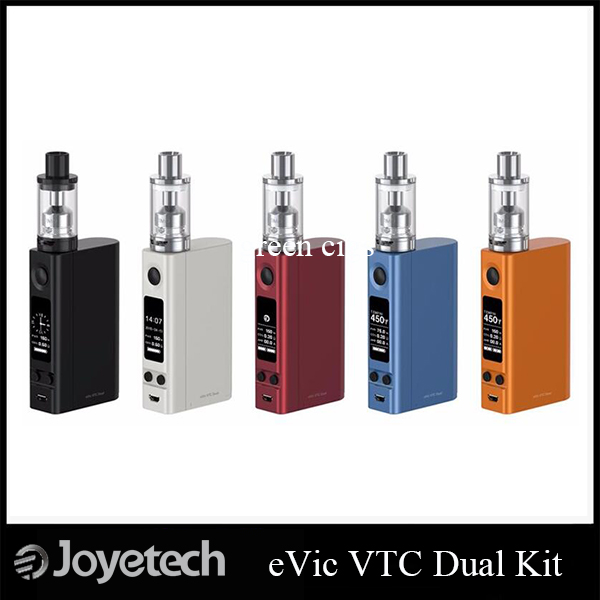 ФОТО Original Joyetech eVic VTC Dual with Ultimo Kit 4ml Liquid Capacity and 75W / 150W Power Mod