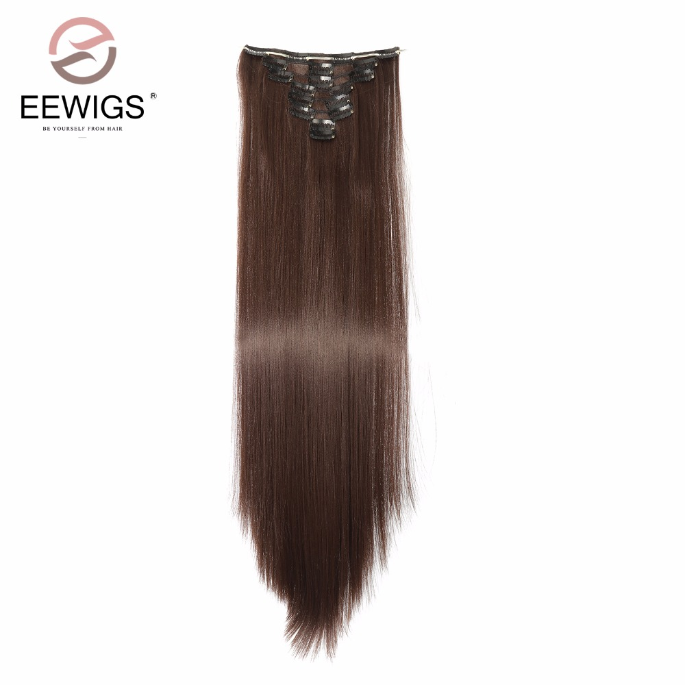 Big Deal 7pieceslot 16clips 28inch Synthetic Clip In Hair Extension