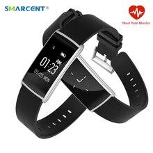 Smarcent N108 smart Сердечного ритма Мониторы смарт-браслет Приборы для измерения артериального давления Фитнес трекер smartband для IOS Android PK ID107