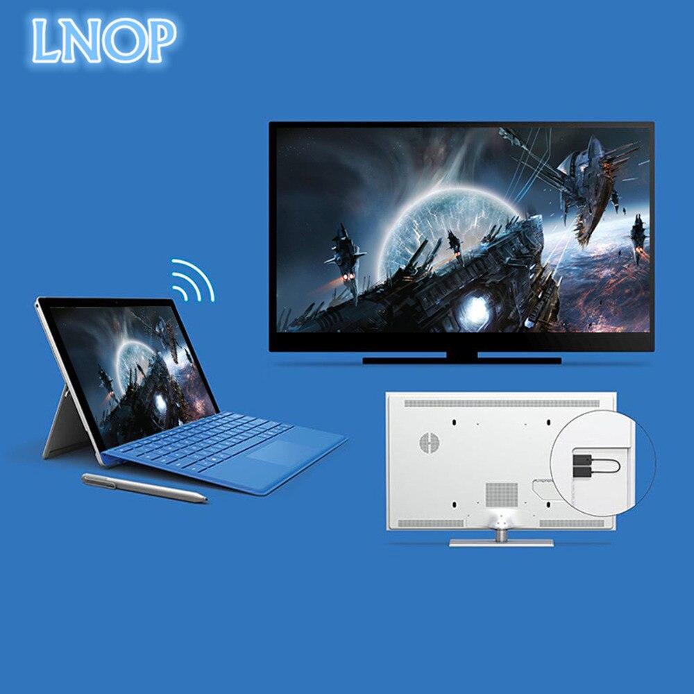 LNOP ноутбук/Планшеты/смартфон к HDMI HD ТВ для Microsoft Беспроводной Дисплей адаптер Беспроводной аудио/видео удлинитель кабель доля