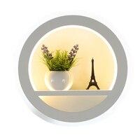 30 watt Moderne wandleuchte für schlafzimmer wohnzimmer Dekoration blume bild hintergrund LED wandleuchte surface mounted warmes weiß-in Outdoor-Wandlampen aus Licht & Beleuchtung bei