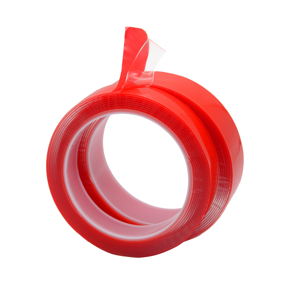 3M 5mm  6mm  8mm 10mm 12mm 15mm Double Sided Adhesive Super Strong Transparent Acrylic Foam Adhesive Tape  No Traces Sticker