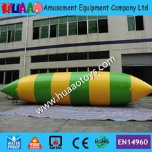цена на Free shipping & Free pump 7m inflatable water catapult blob