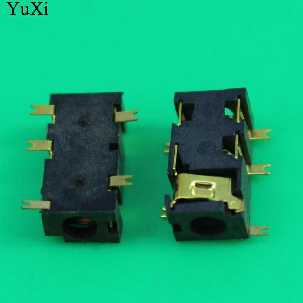 YuXi 3.5mm Auido Jack Connectors Vrouwelijke 3.5 Hoofdtelefoon Oortelefoon Connectors Gold Plating met Kolom SMT Type