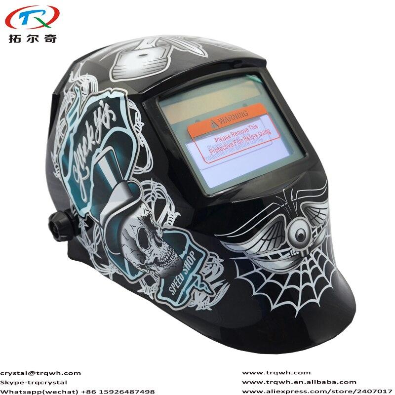 Loja de Velocidade Capacete de Soldagem Mascara de Solda Ferramenta de Poder Transporte Rápido Sorte Soldador Tampão Parte Substituível Cr2032 Trq-jd05-2233ff Tig
