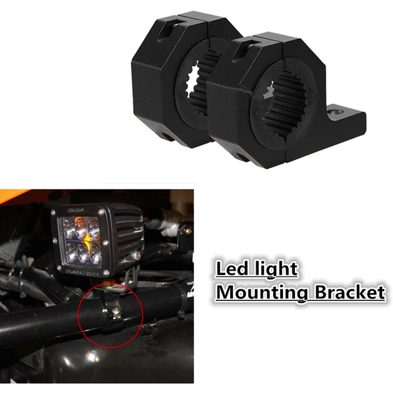 Led Light 28mm 31mm Mounting Bracket Universal Car Bracket Spotlight 4x4 Offroad ATV Roll Cage Tube