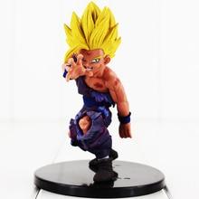 12cm Anime Dragon Ball Z Gohan Figure Toy Son Gohan Dramatic Showcase Battle Damaged Super Saiyan