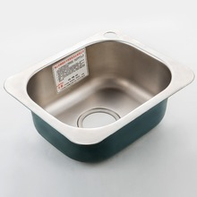 цена на ITAS9925 single bowl 304 stainless steel round without faucet kitchen sink brushed dish vegetables wash