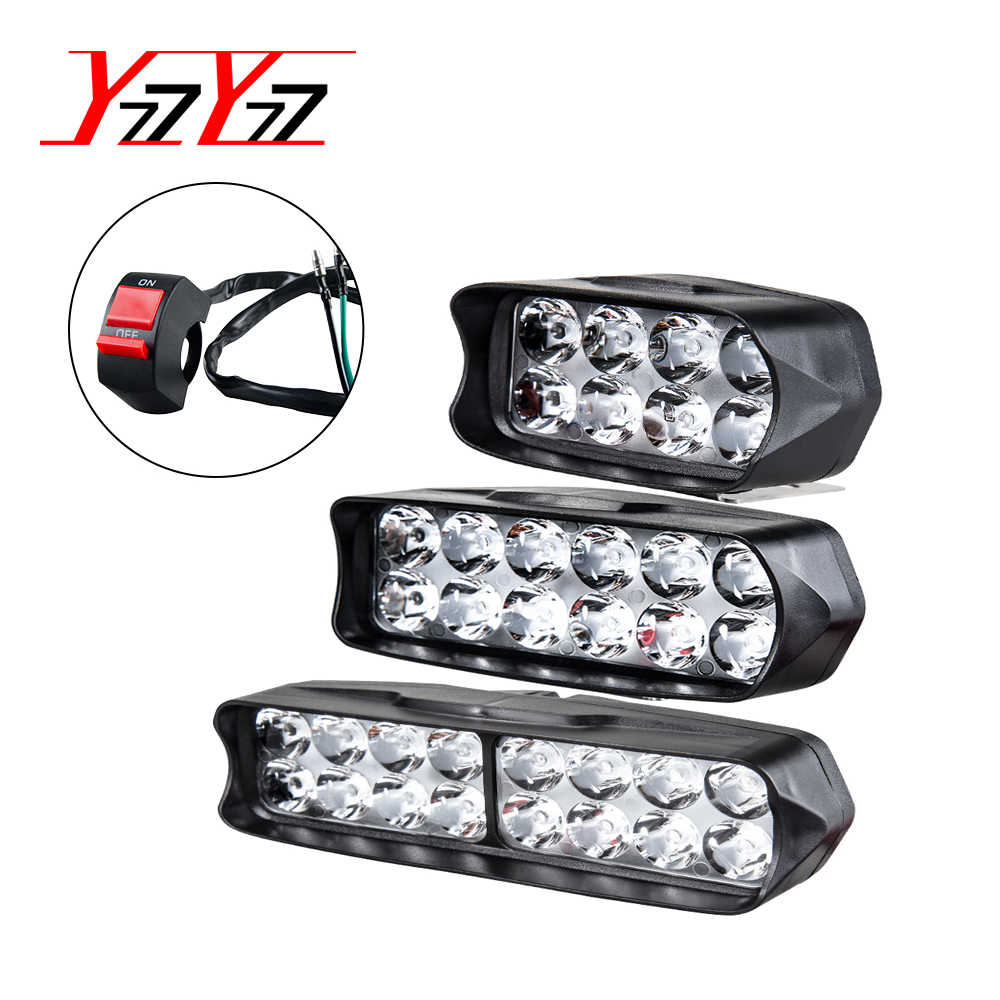 YzzYzz Car Headlights Led Bar Work Light Bulbs 6500K White 12V 24V Led Lamps Bar light for Car Motorcycle Off Road Tractor Boat