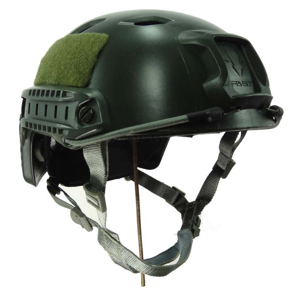 VILEAD 6 Colors Tactical Lightweight Ops-Core Fast Base Jump BJ type Military Tactical Helmet Pararescue Jump Helmet Helmets militech fast aor2 bj high cut style vented airsoft tactical helmet ops core style base jump training helmet air soft helmet