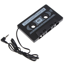 High Quality Car Cassette Universal Car Audio Cassette Tape Adapter for iPod MP3 CD DVD Player