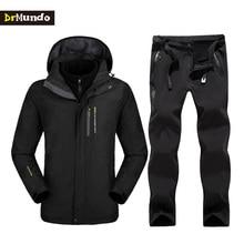 Plus Size Mountain Skiing Ski-wear Winter Waterproof Hiking Outdoor jacket Snowboard jacket Ski suit Man Large Size Snow jackets