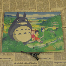 Totoro Vintage Wall Poster