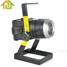 Outdoor Spotlight LED light IP65 30W Floodlight Portable Rechargeable Emergency flood light for Traveling Camping Fishing